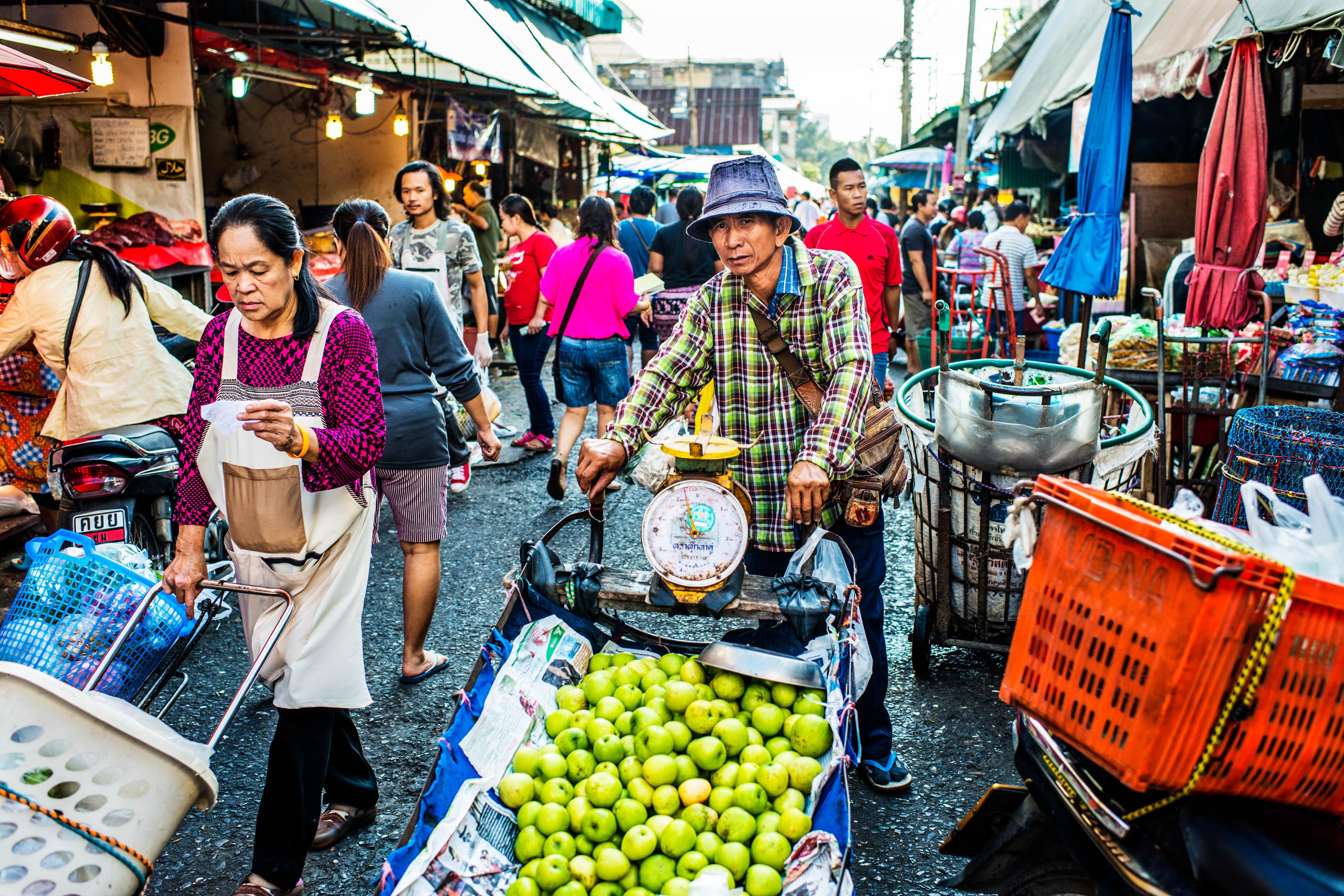 Chiang Mai Markt