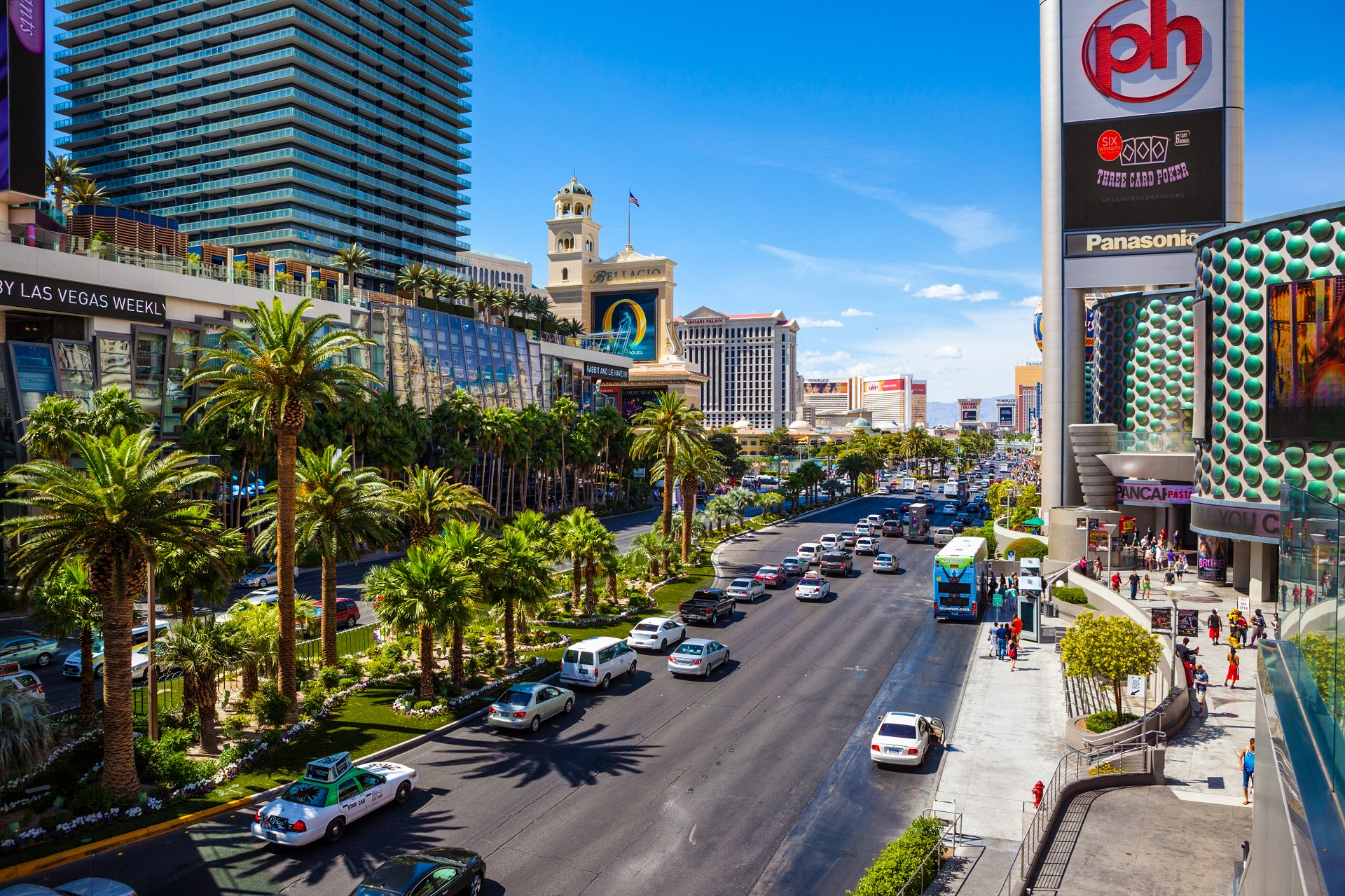 Dos and Don'ts in Las Vegas, Verkehr, Uber, Mietwagen