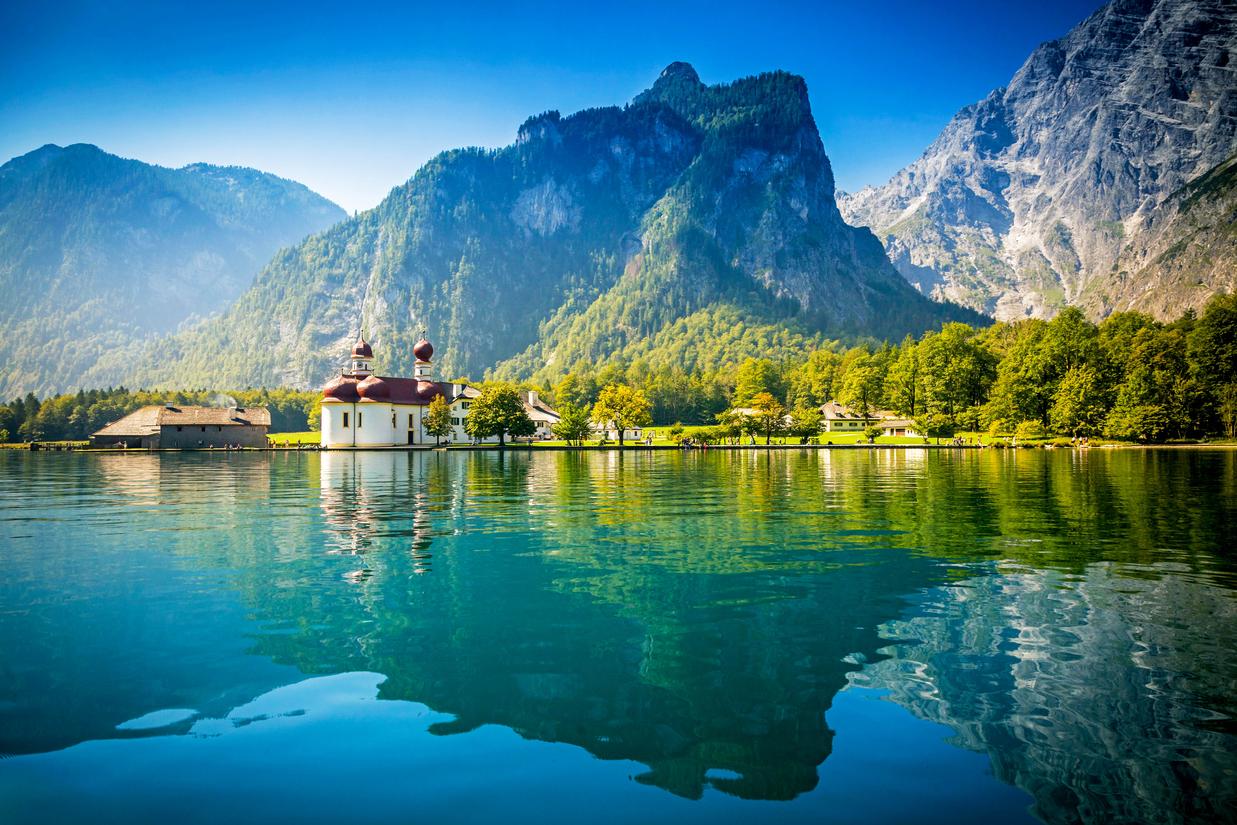 Die 5 schönsten Bergseen der Alpen, Königssee