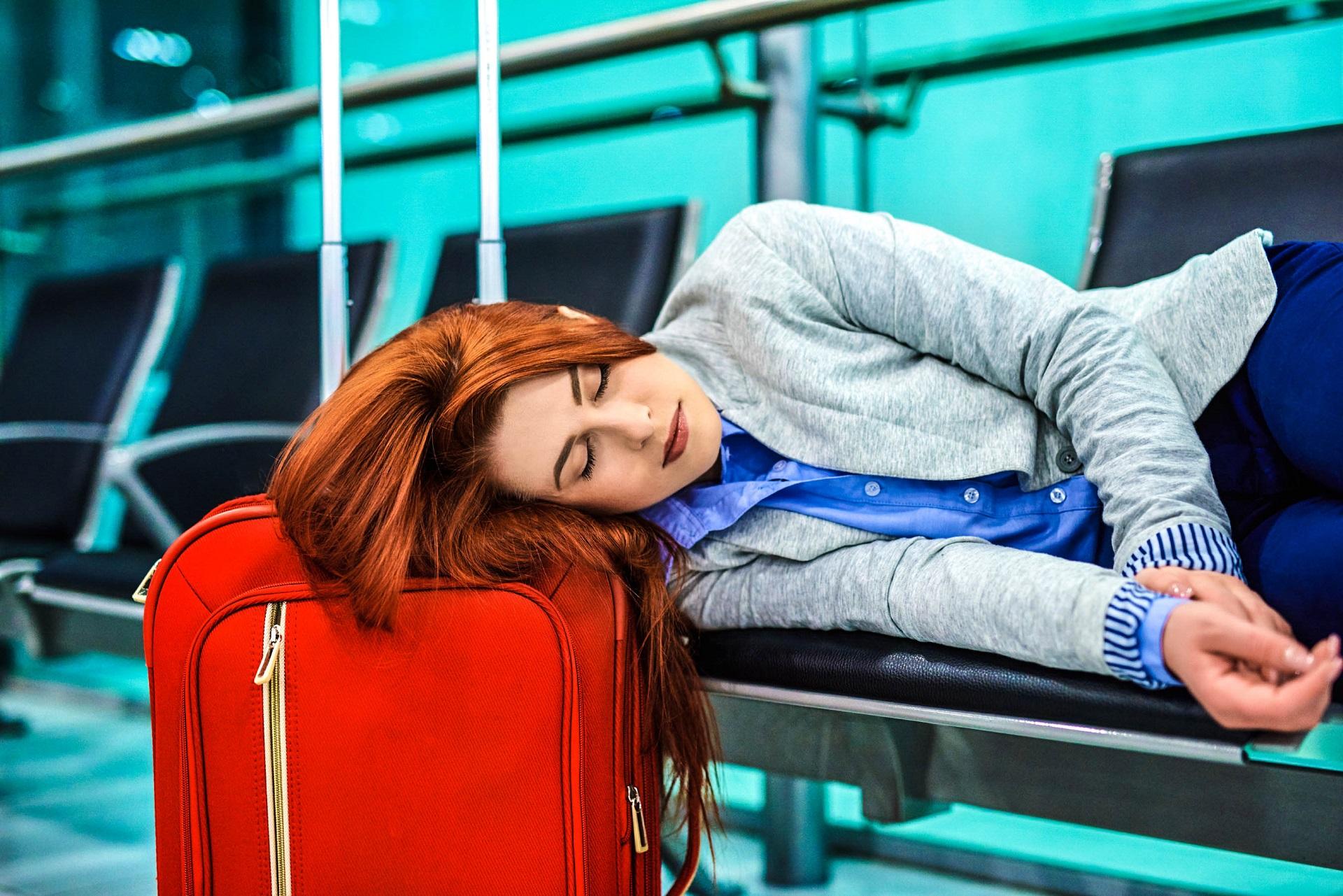 Schlafen am Flughafen Tipps