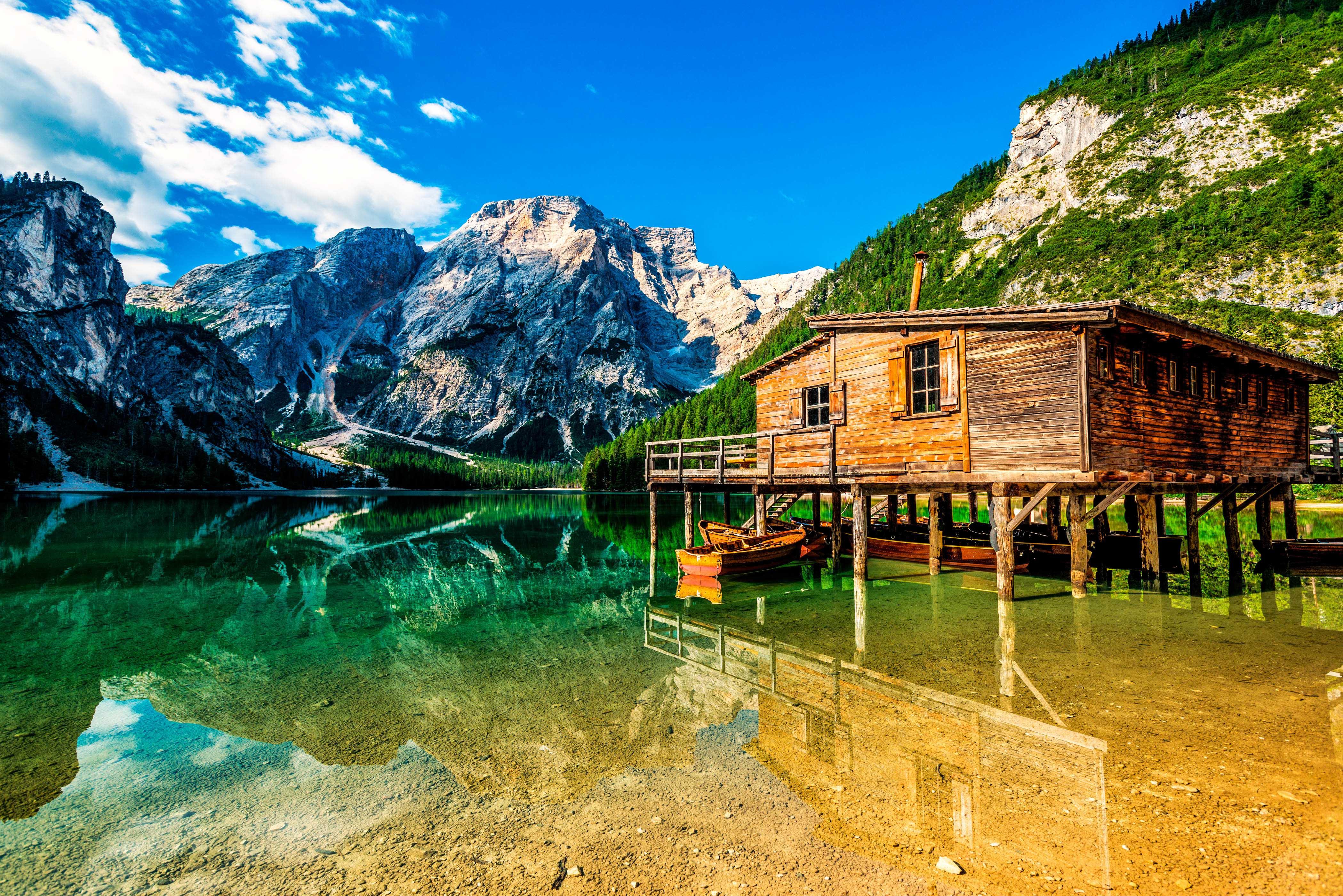 Die 5 schönsten Bergseen der Alpen, Pragser Wildsee