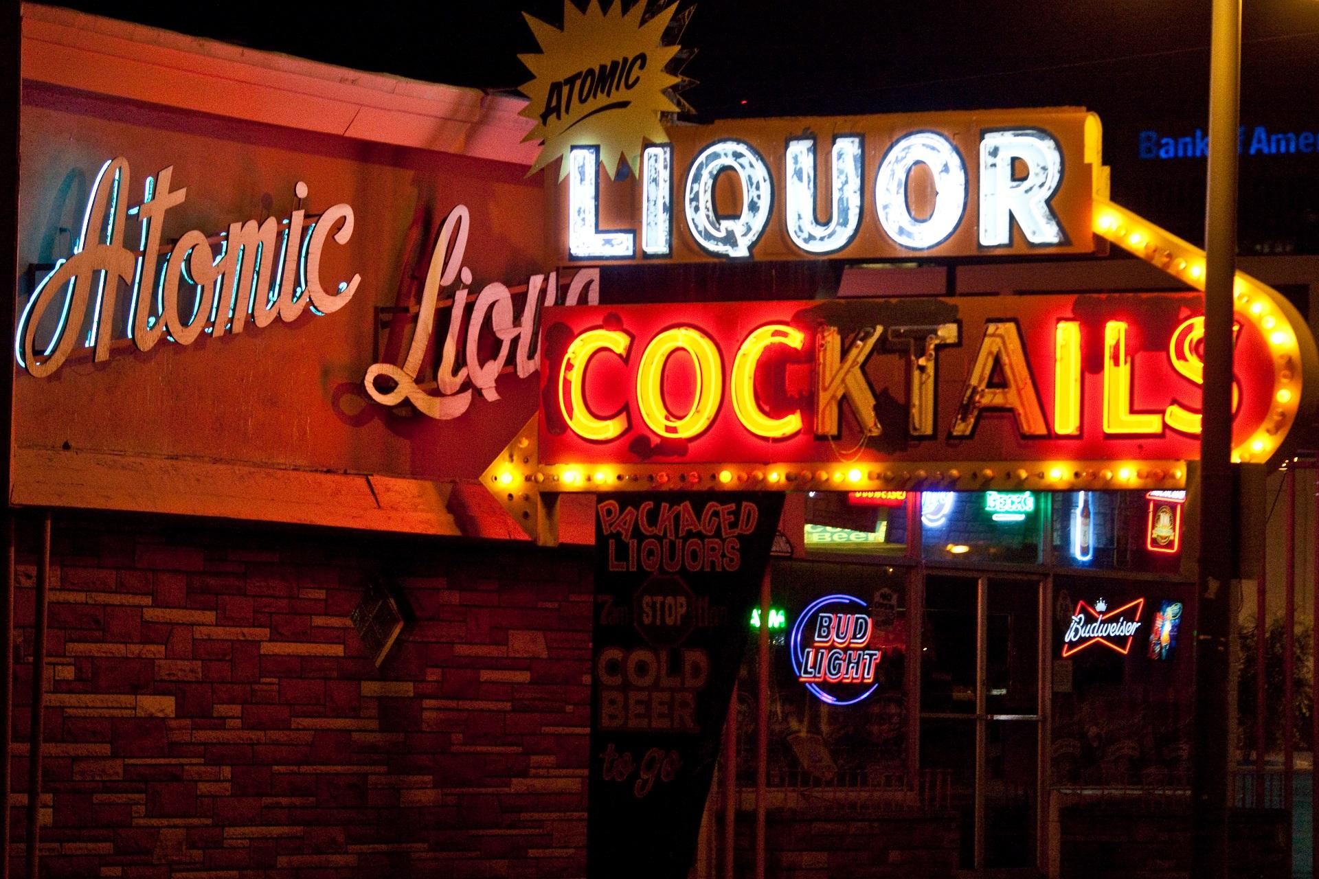 Atomic Liquors Las Vegas, Hangover Drehorte