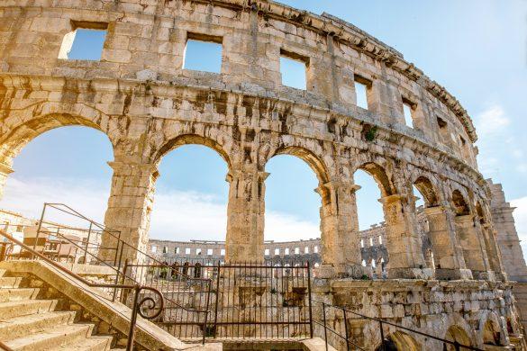 Pula Kroatien Amphitheater Arena