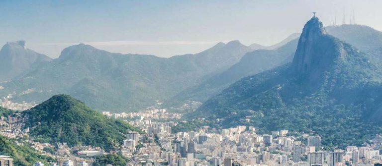 Luftansicht Rio de Janeiro