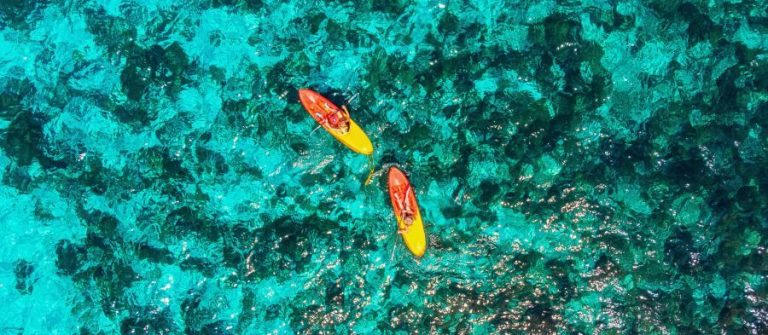 Kanu fahren auf Malta