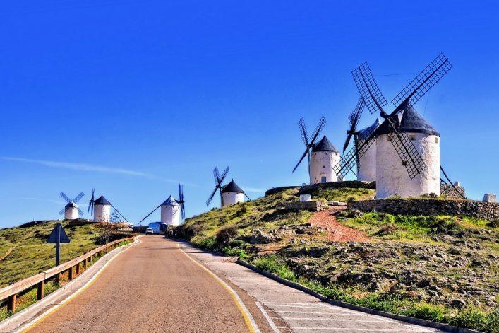 La-Mancha-Spain-windmills-shutterstock_723139327