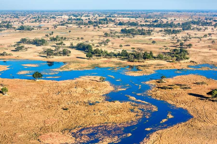 okavangodelta in Botswana