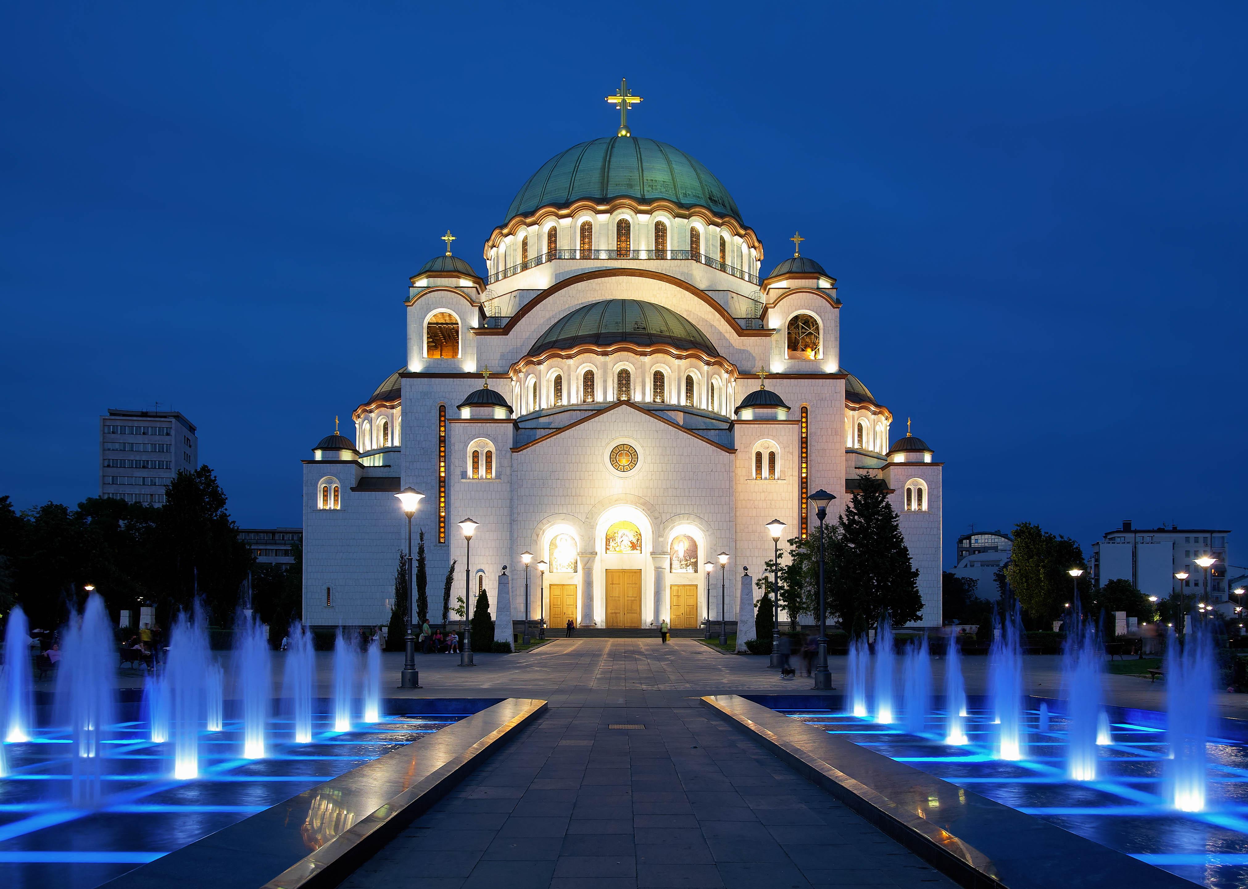 Belgrad Tipps Dom des Heiligen Sava