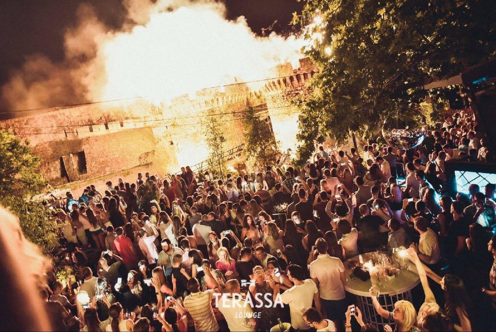 Terassa Lounge Belgrad