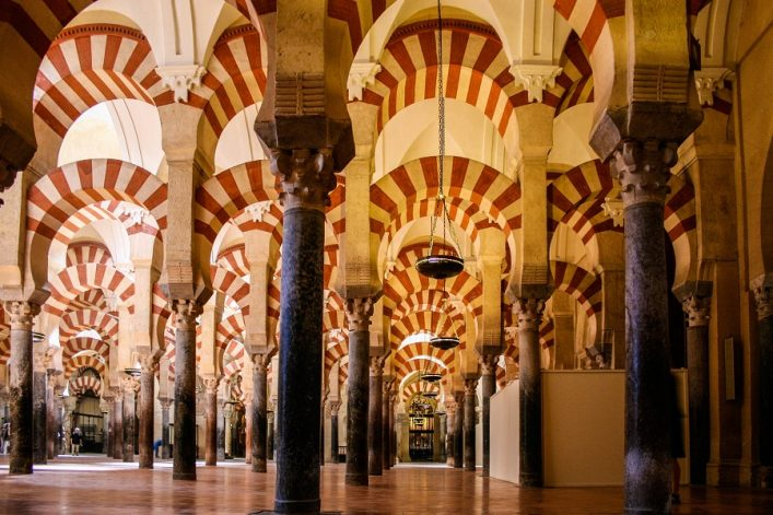 """forerst of columns, la mezquita"""