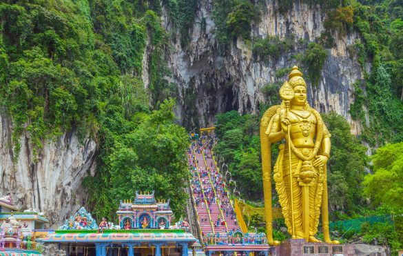 Kuala Lumpur Tipps, Batu Caves, Sehenswürdigkeiten