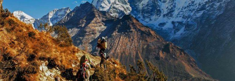 khumbu sagarmatha nationalpark in Nepal