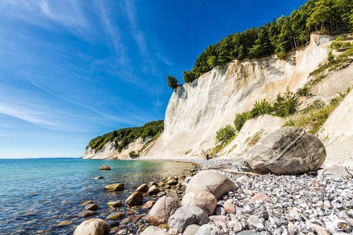 Die Ostseeküste auf Rügen.