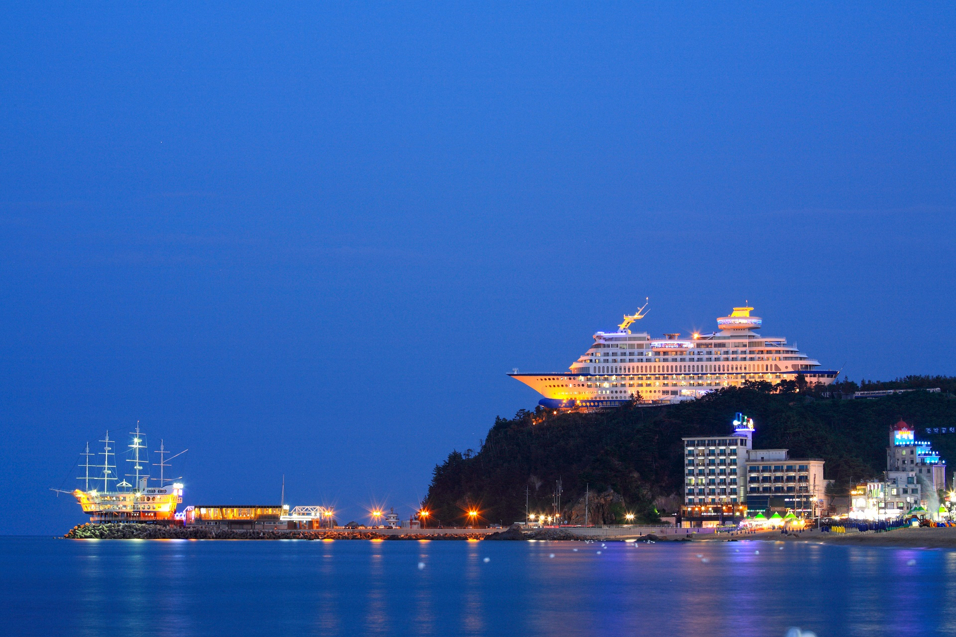 Das spektakuläre Sun & Cruise Hotel in Südkorea