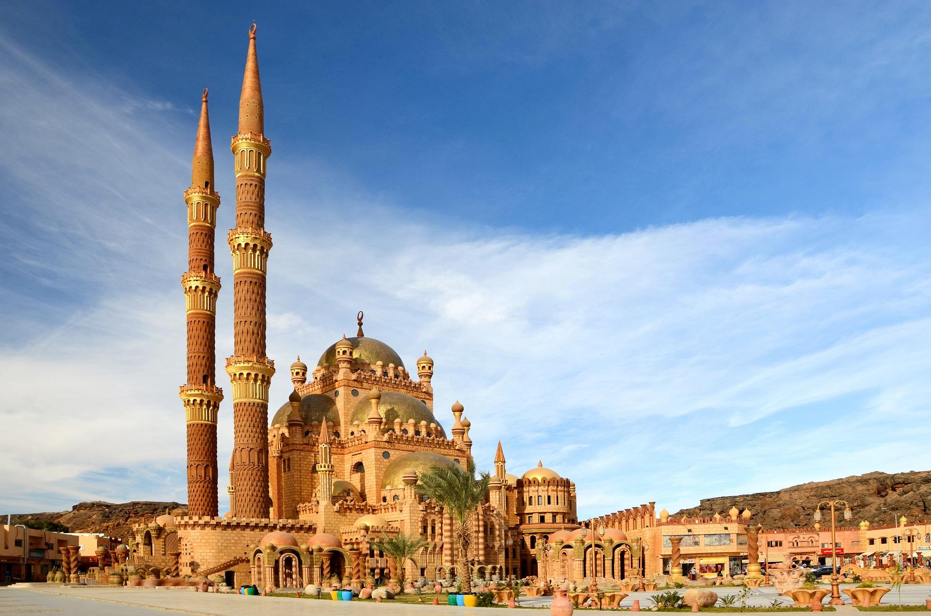Moschee in der Altstadt Sharm el Sheikh