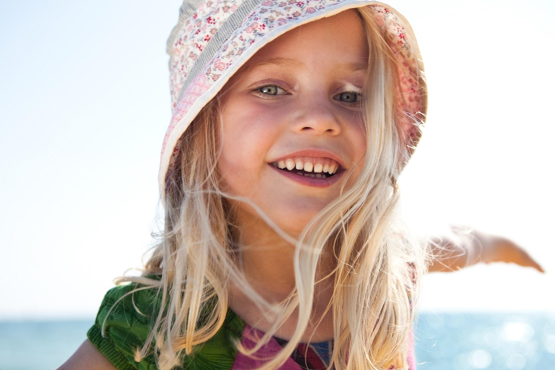 Strahlende Kinderaugen in den TUI MAGIC LIFE Clubhotels bei einem Urlaub mit Kindern.