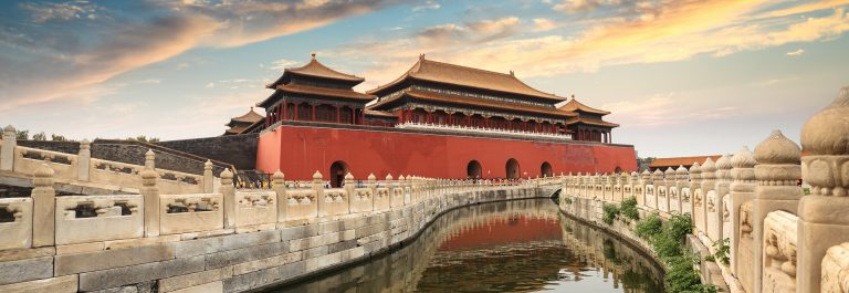 Peking forbidden city in beijing, China shutterstock_129903839
