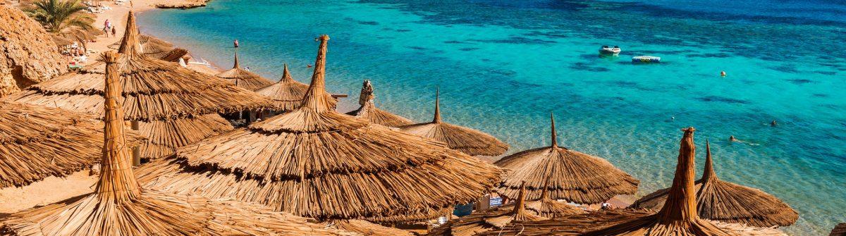 Red Sea coastline in Sharm El Sheikh, Egypt, Sinai shutterstock_251998573