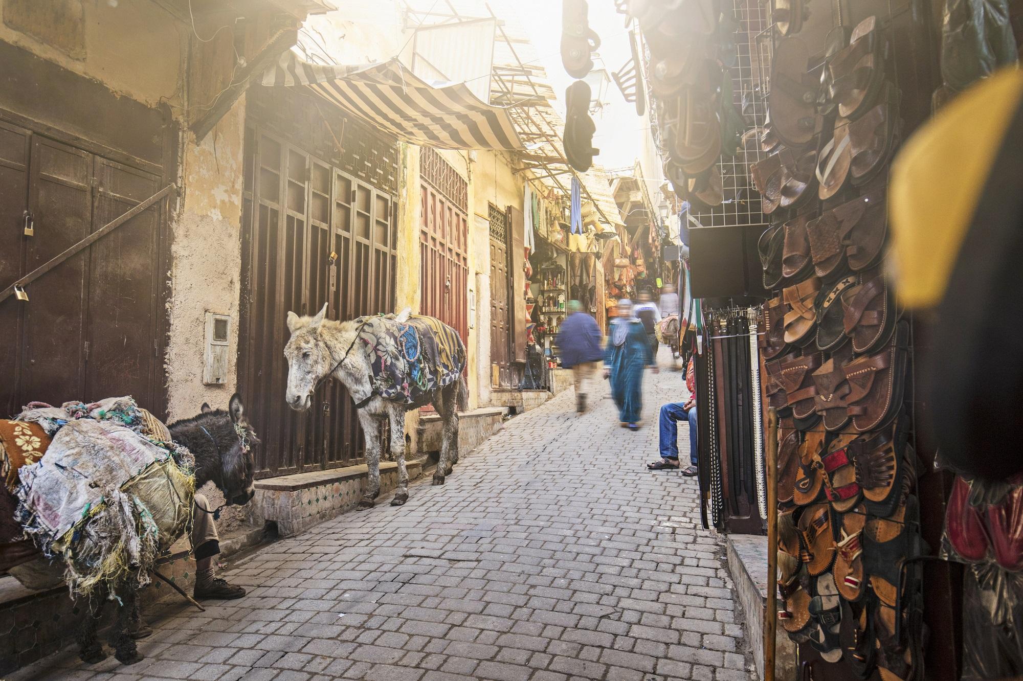 Sehenswürdigkeiten in Marokko