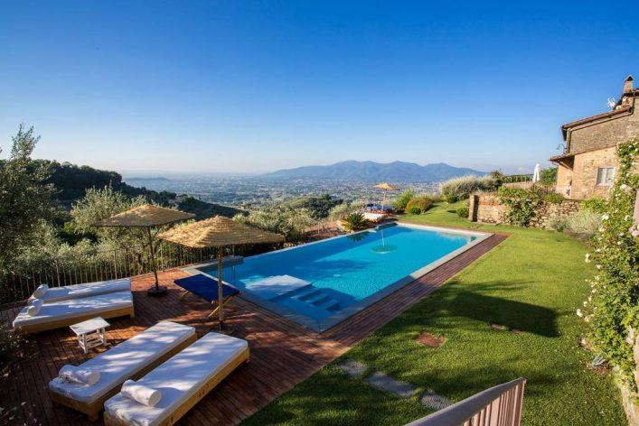 Toskana Ciciana Bauernhaus mit Pool