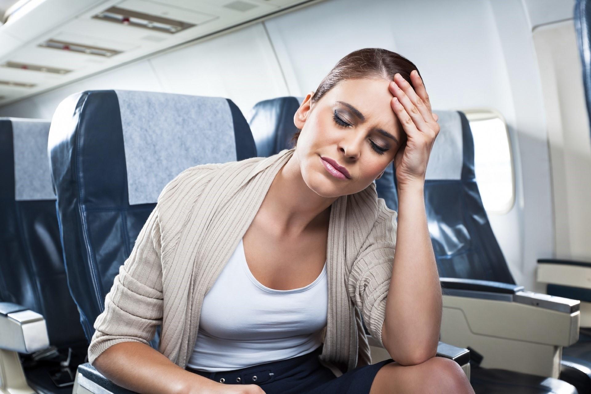 Resultado de imagen de motion sickness on airplane