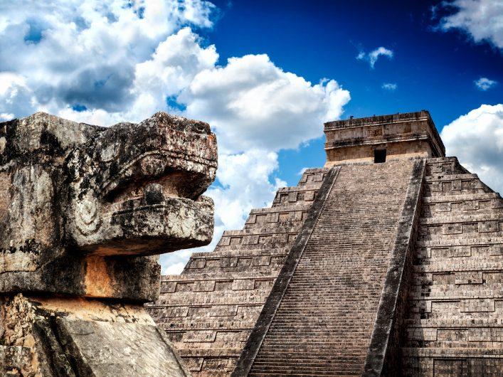 die maya bauten in mexiko
