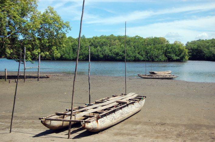 Einbaum Boot