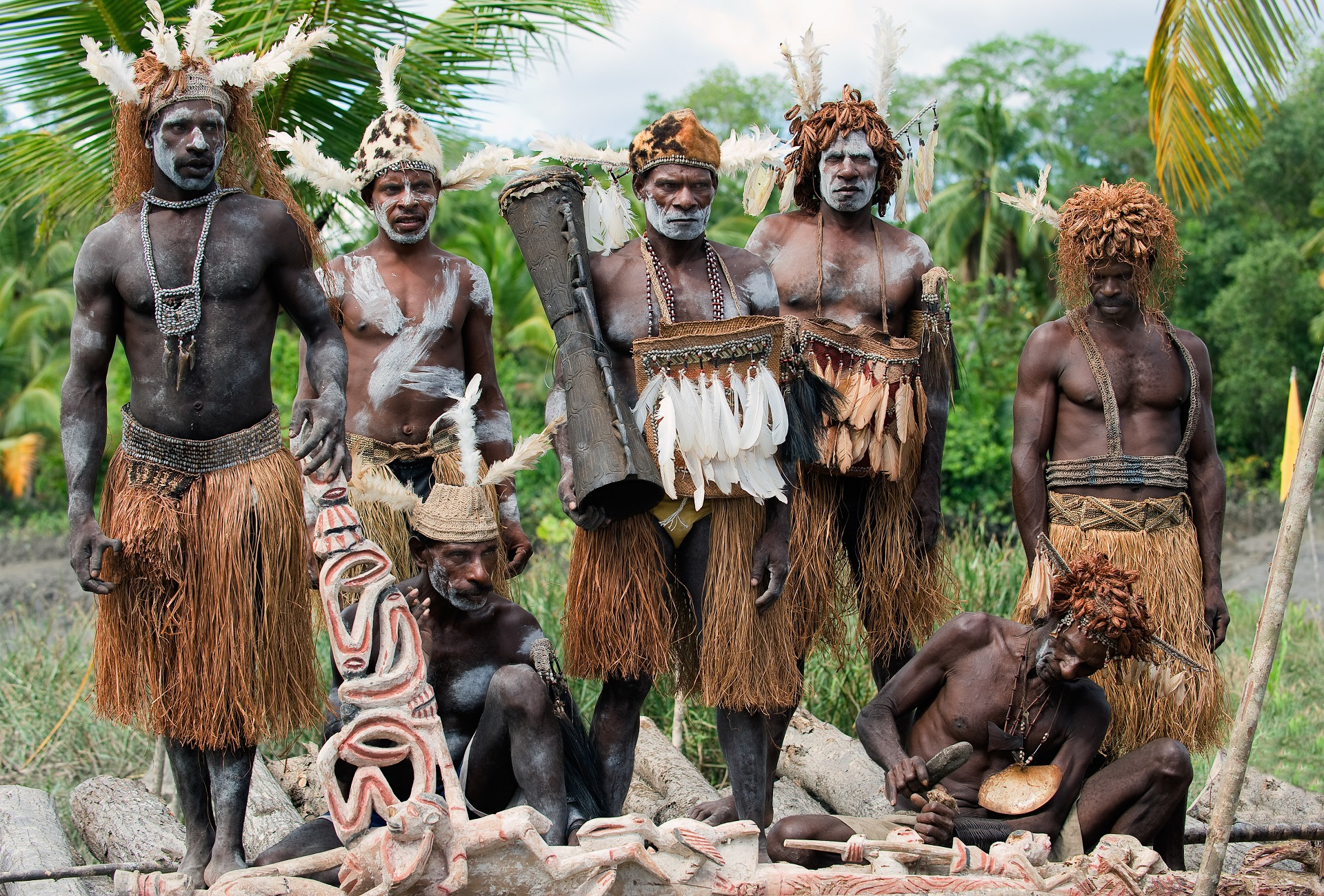 Ureinwohner von Papua-Neuguinea