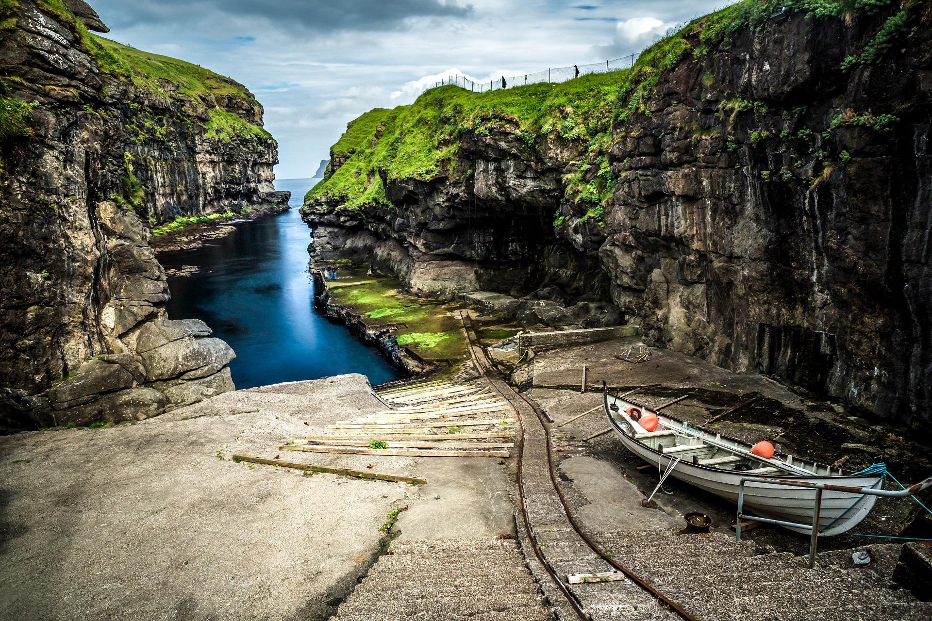 Esturoy ist eine tolle Region auf den Färöer Inseln