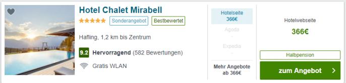 mirabell screen