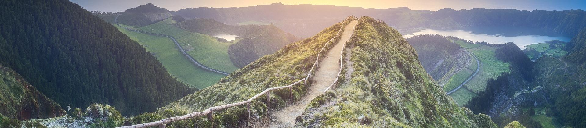 Wanderweg auf den Azoren