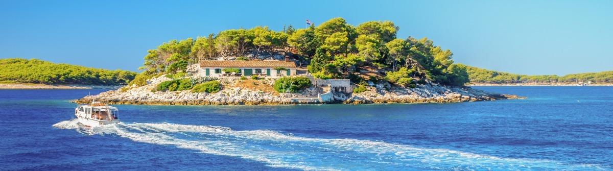 Die kroatischen Pakleni Inseln sind ein wahres Juwel der Adria