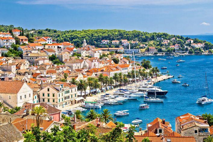 Die Insel Hvar zählt zu den schönsten in Kroatien