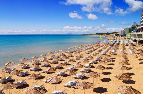 Sonnenstrand Bulgarien Strand