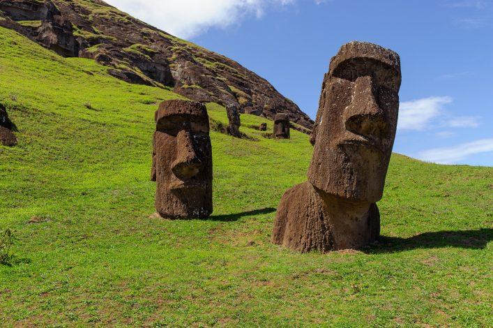 Statuen auf der Osterinsel