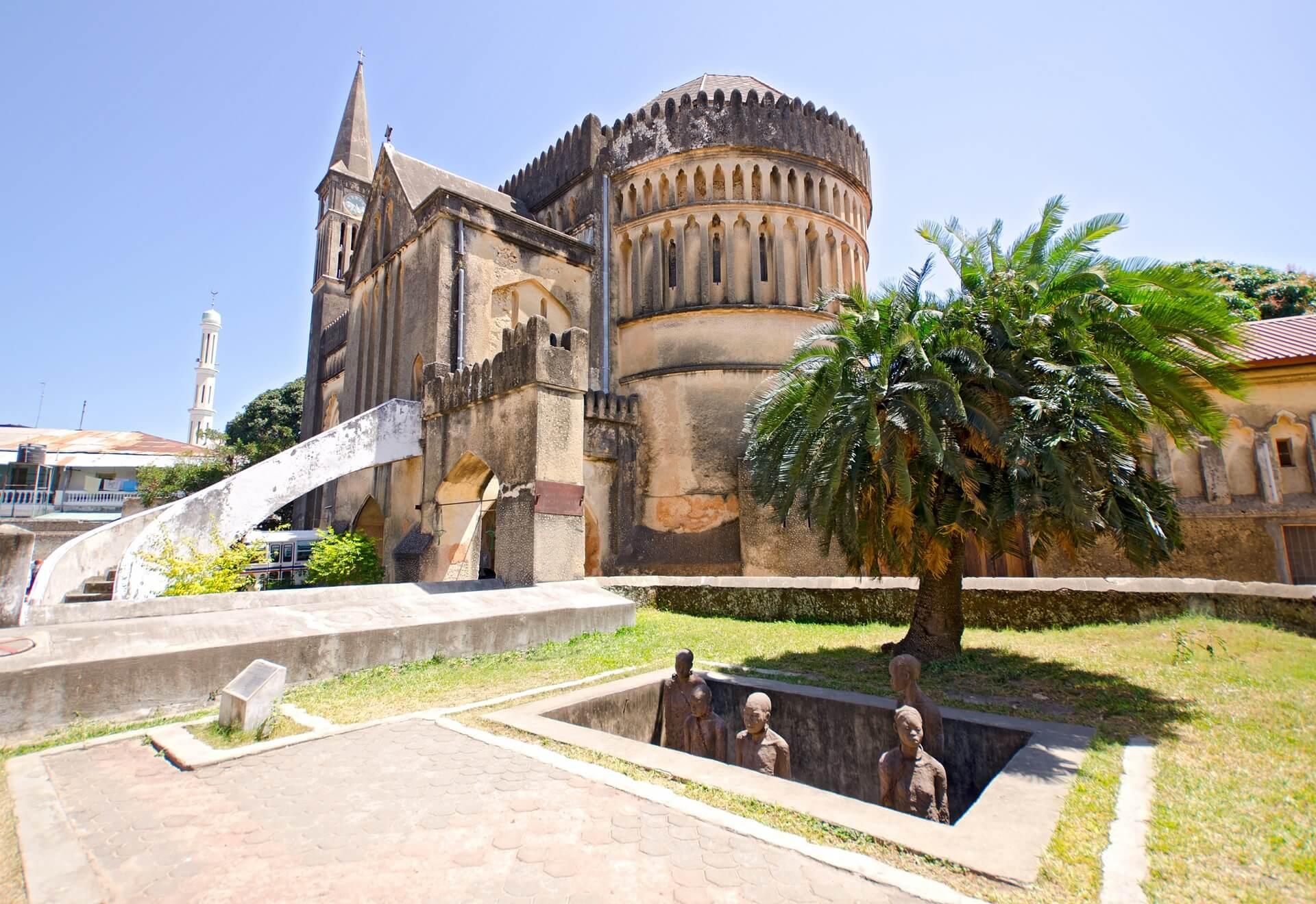 Die Anglikanische Kathedrale von Sansibar ist einen Besuch wert