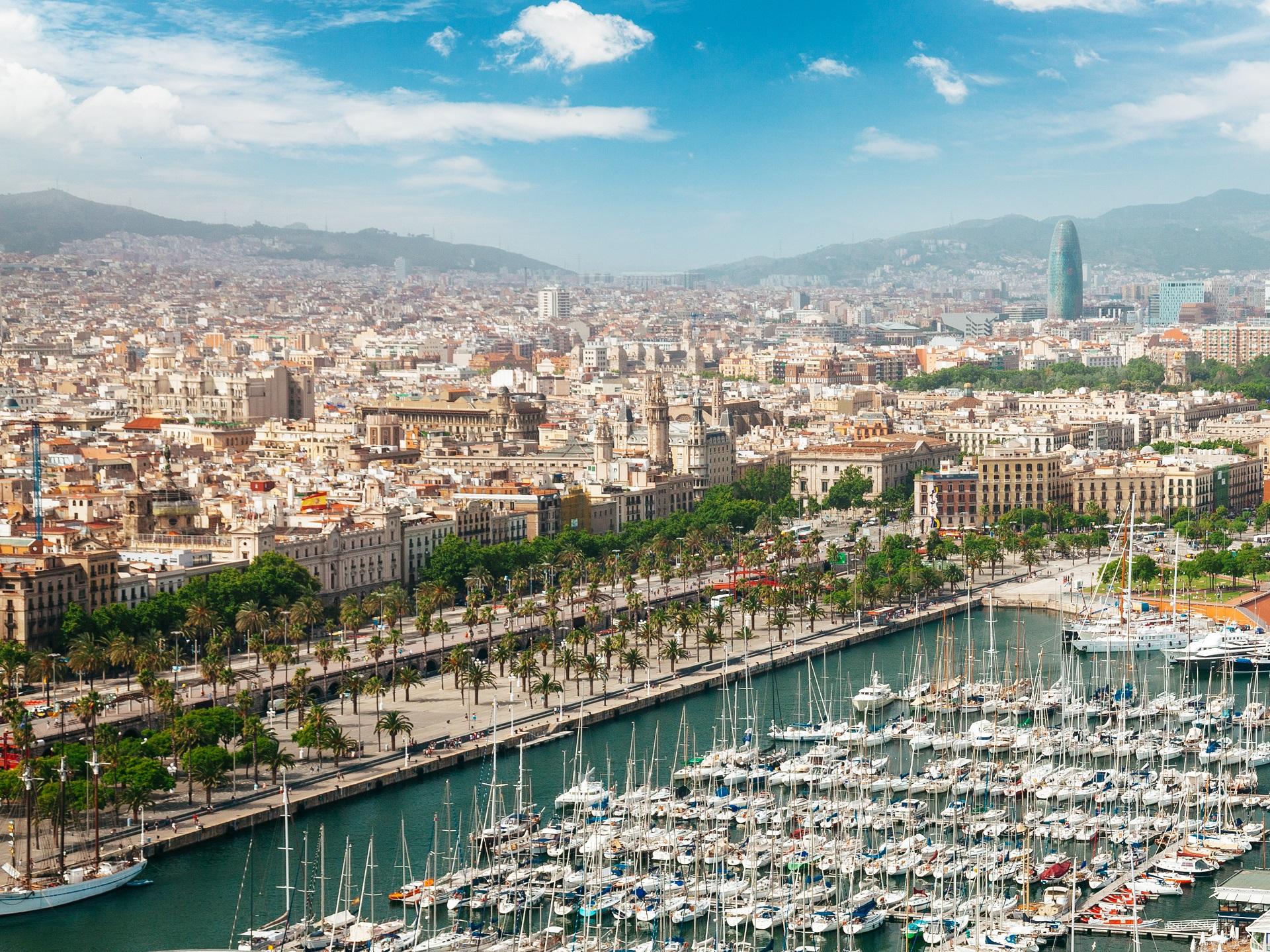 Die Hafenstadt Barcelona
