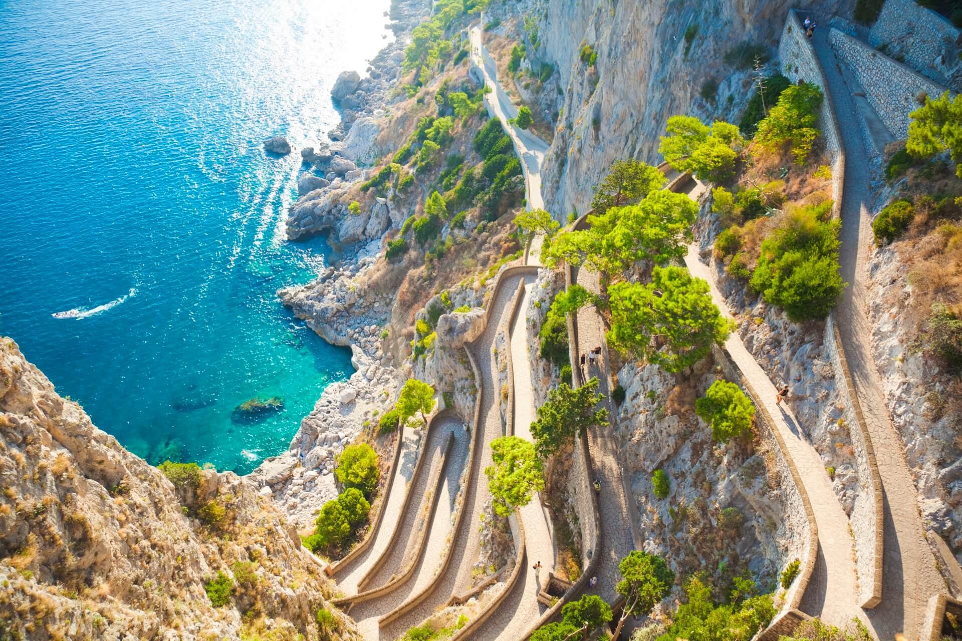 Die Via de la Krupp auf Capri