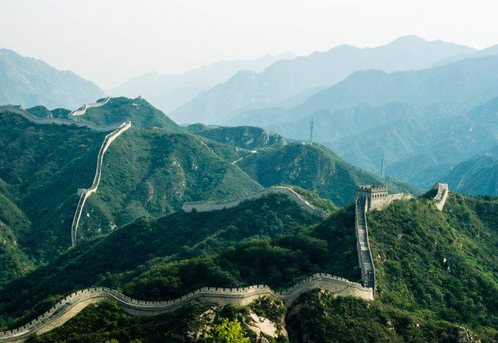 Marathonstrecken: Über die chinesische Mauer.