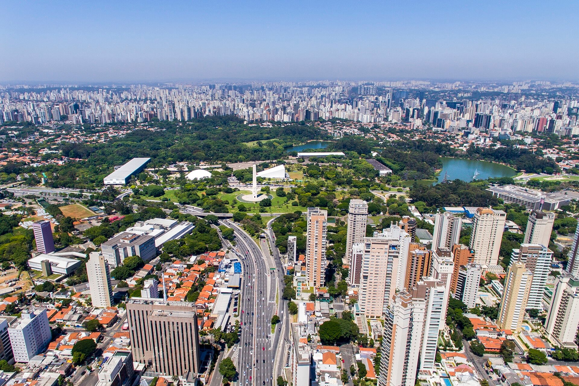 Die Skyline São Paulos ist absolut beeindruckend