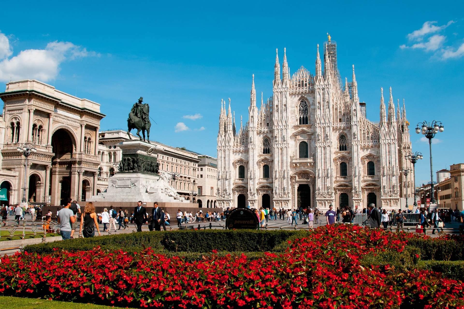 Mailänder Dom in Italien