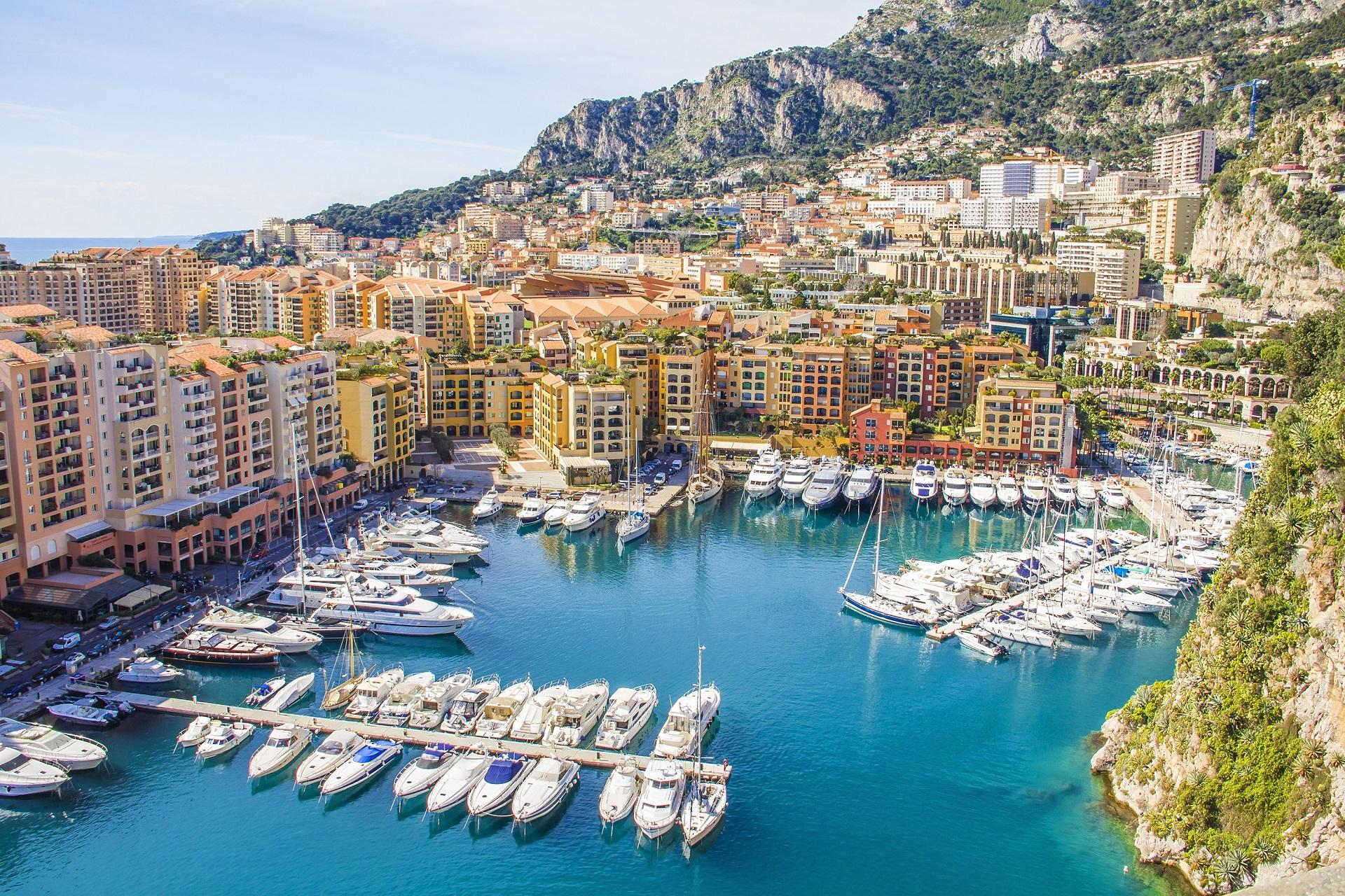 Der Hafen von Monaco