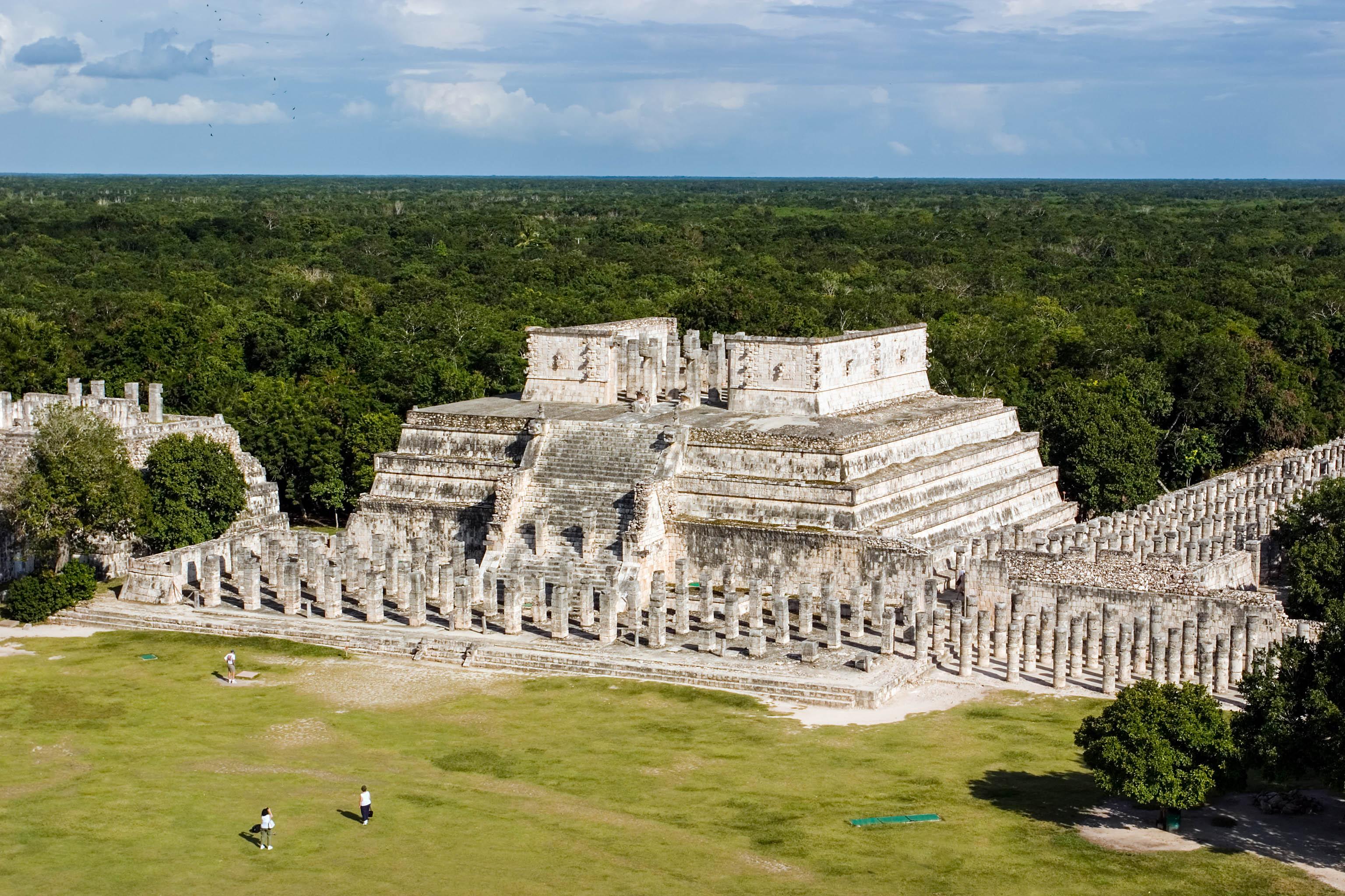 Die Maya Ruine Chichen Itza in Mexiko
