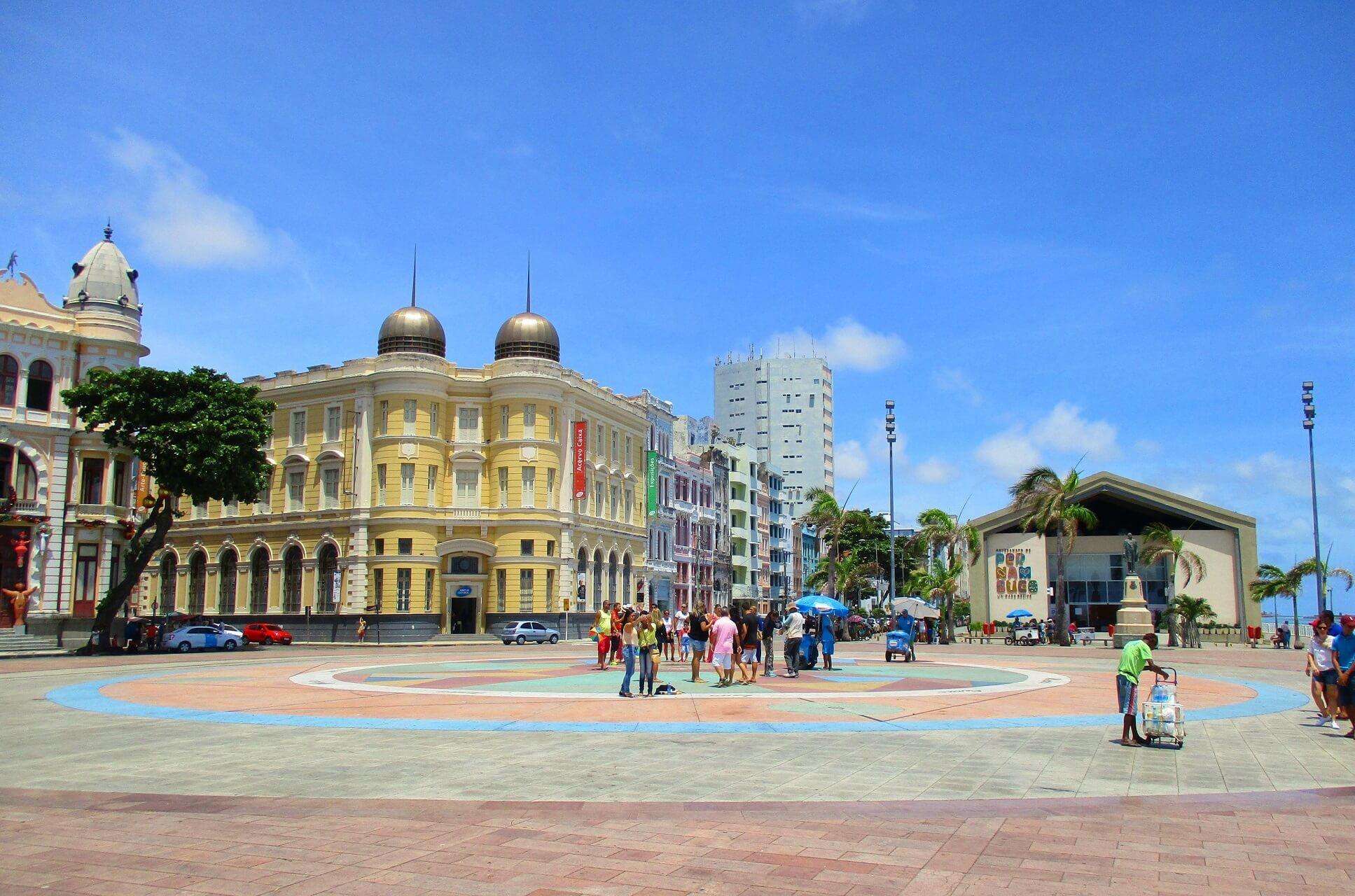 Der Praça do Marco Zero ist das touristische Highlight Recifes