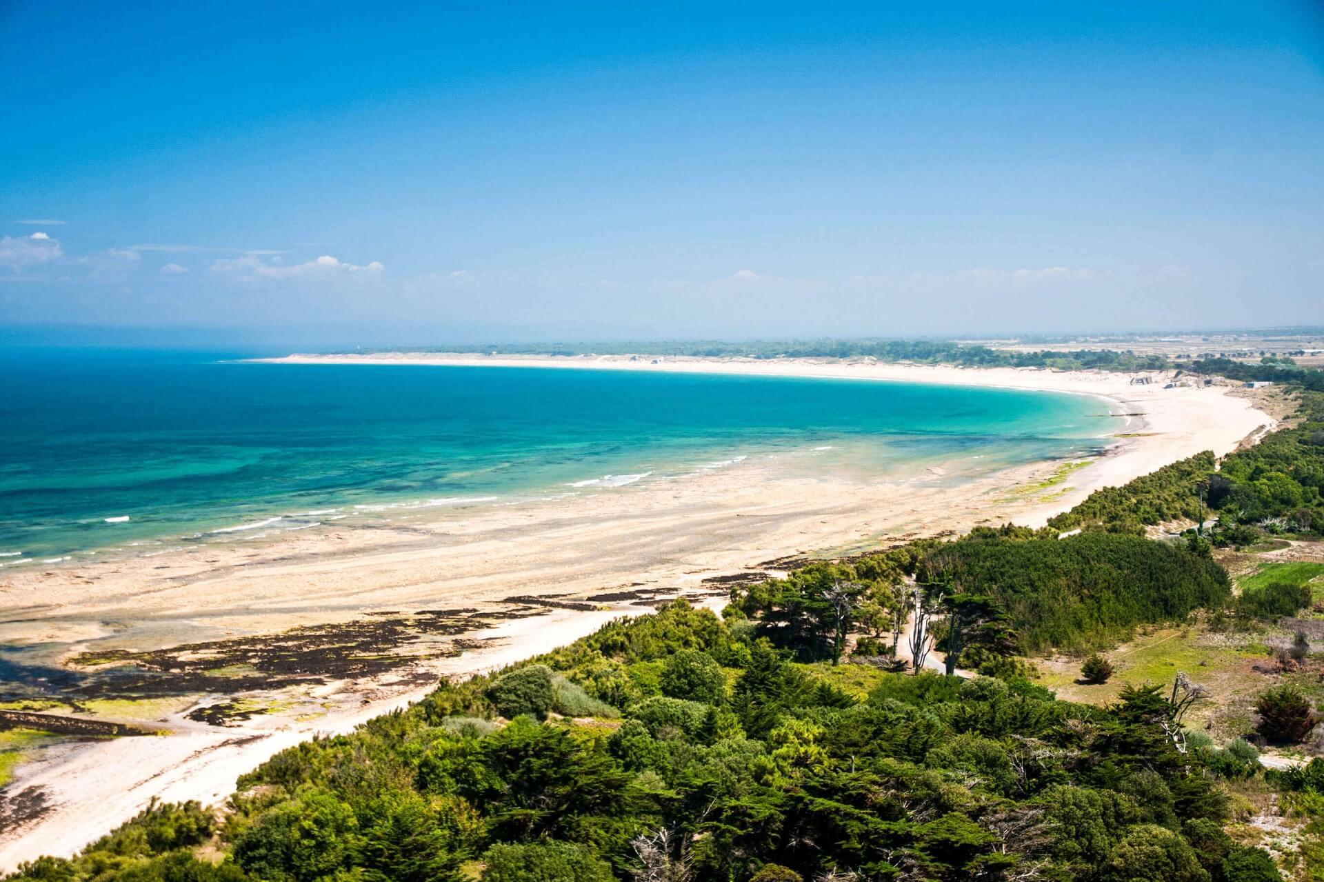 Strand und Meer Ile de Ré Frankreich
