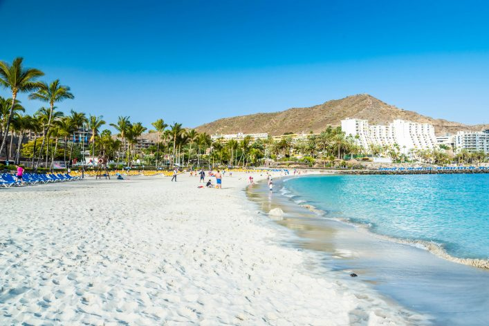 Ein Strand auf Gran Canaria