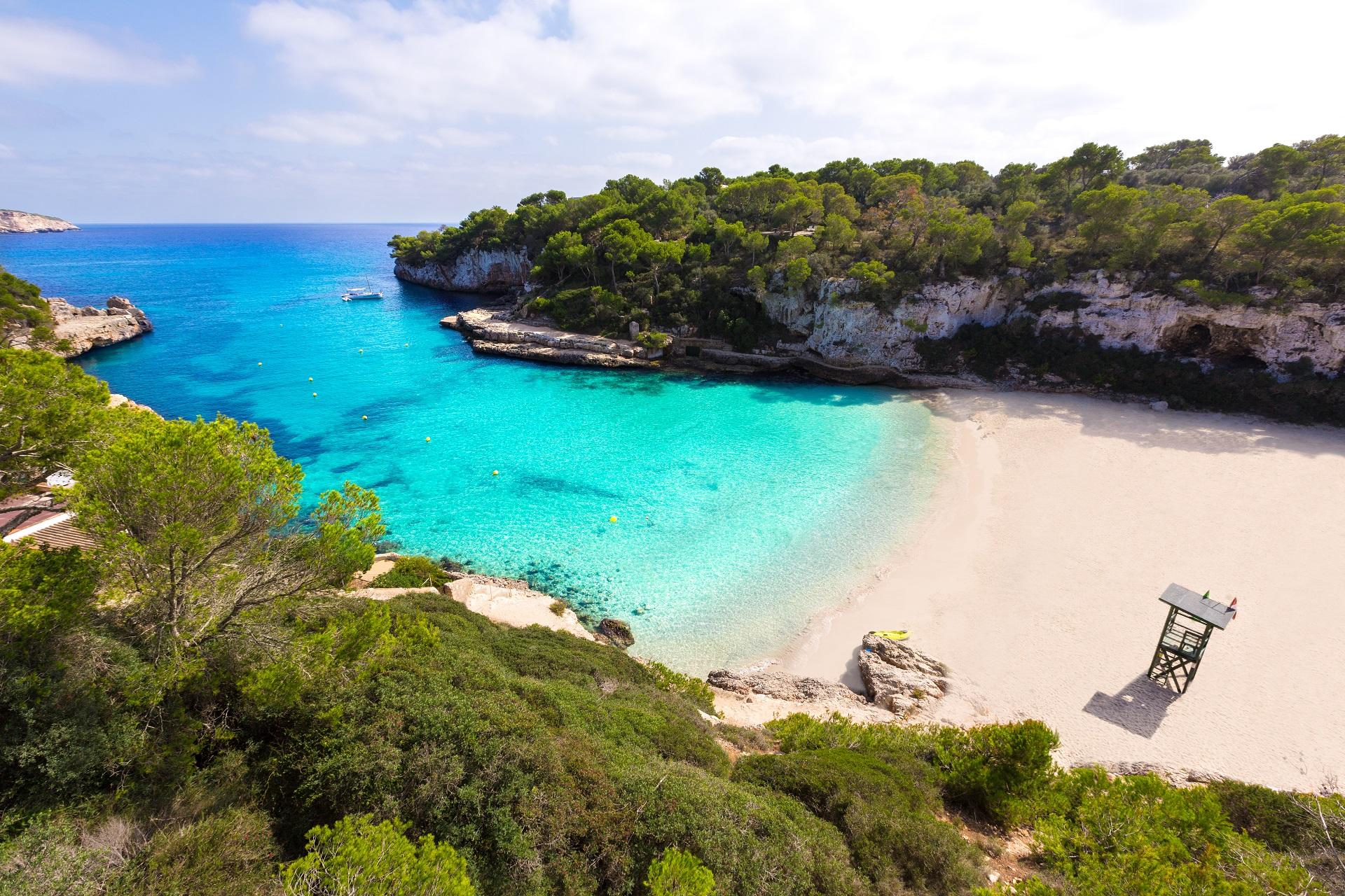 Cala llombards in Santanyi auf Mallorca
