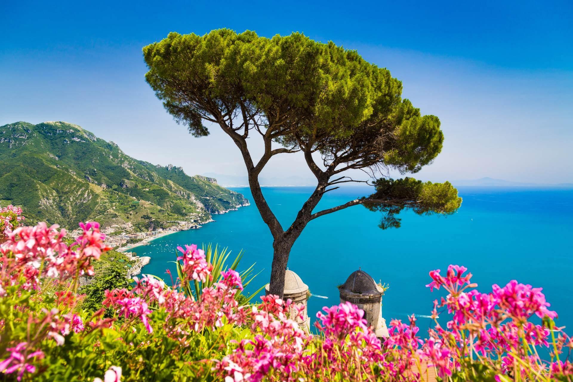 Blick aufs Meer auf Capri