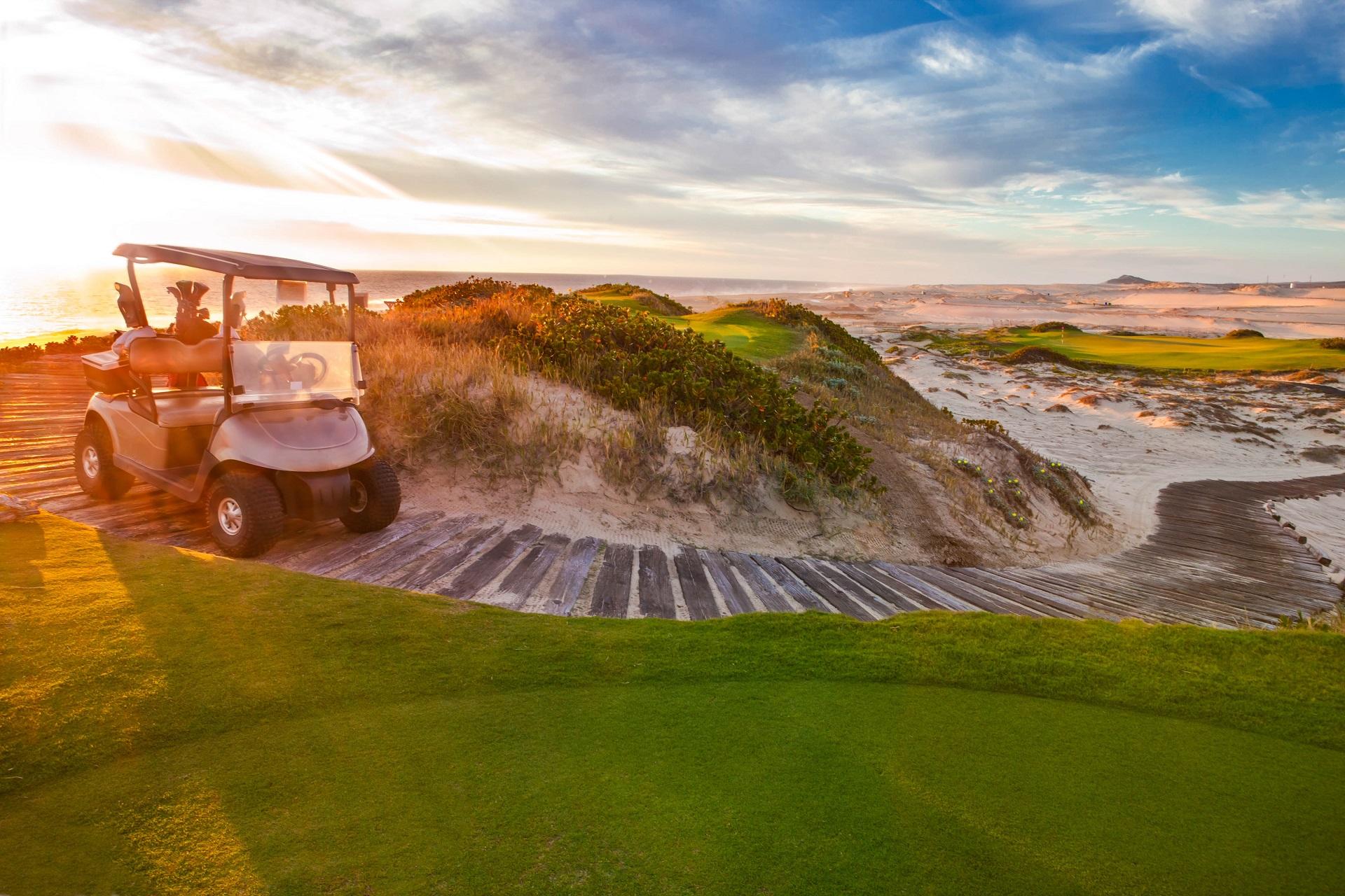 Cabo San Lucas ist der beste Ort um Golf zu spielen.
