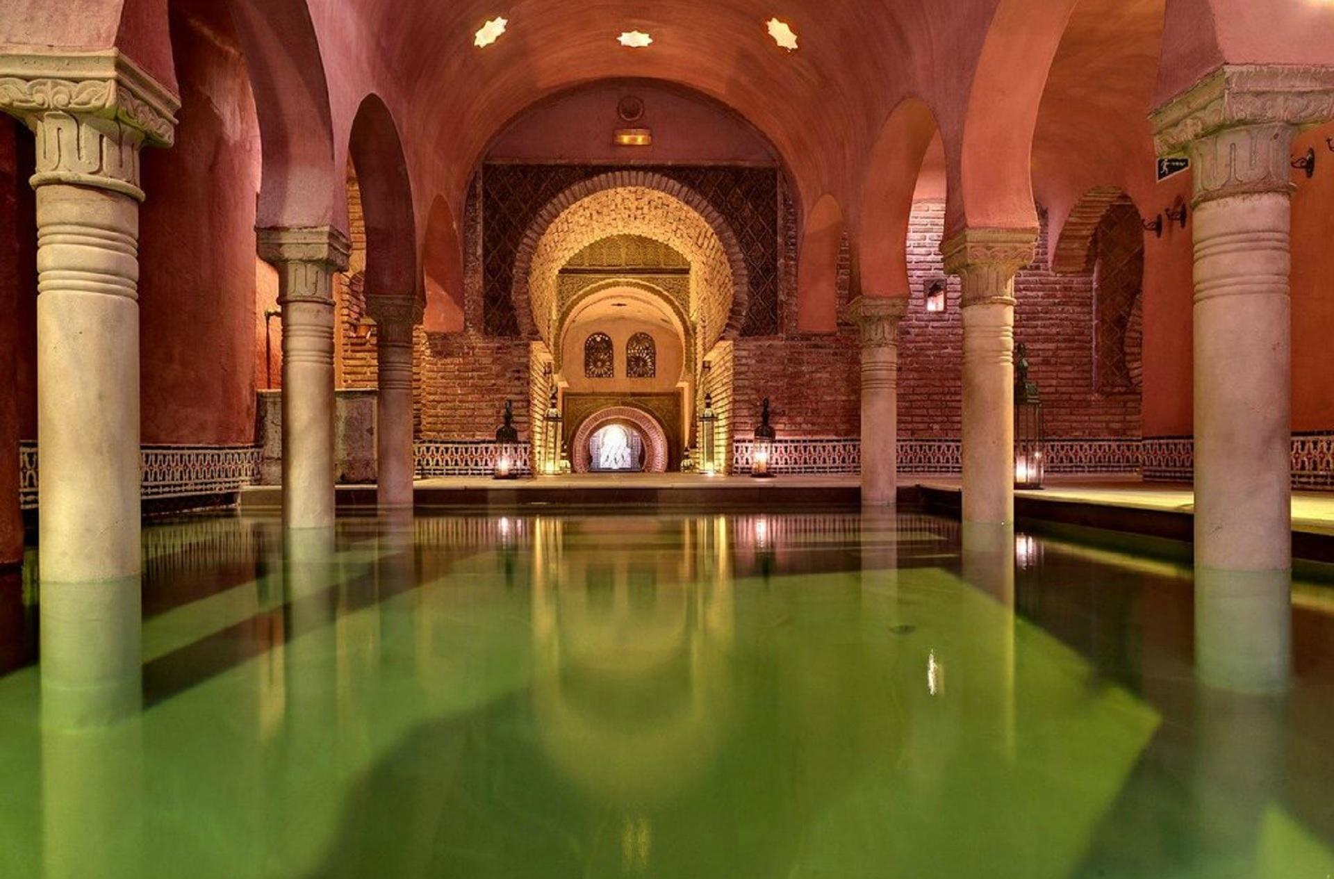 hammam in Granada, Entspannung in den arabischen Bädern